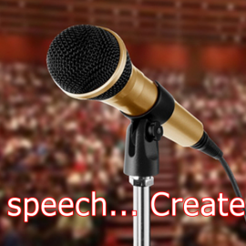 Public speaking technique without fillers